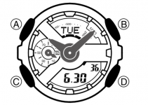 g shock watch schematic diagram