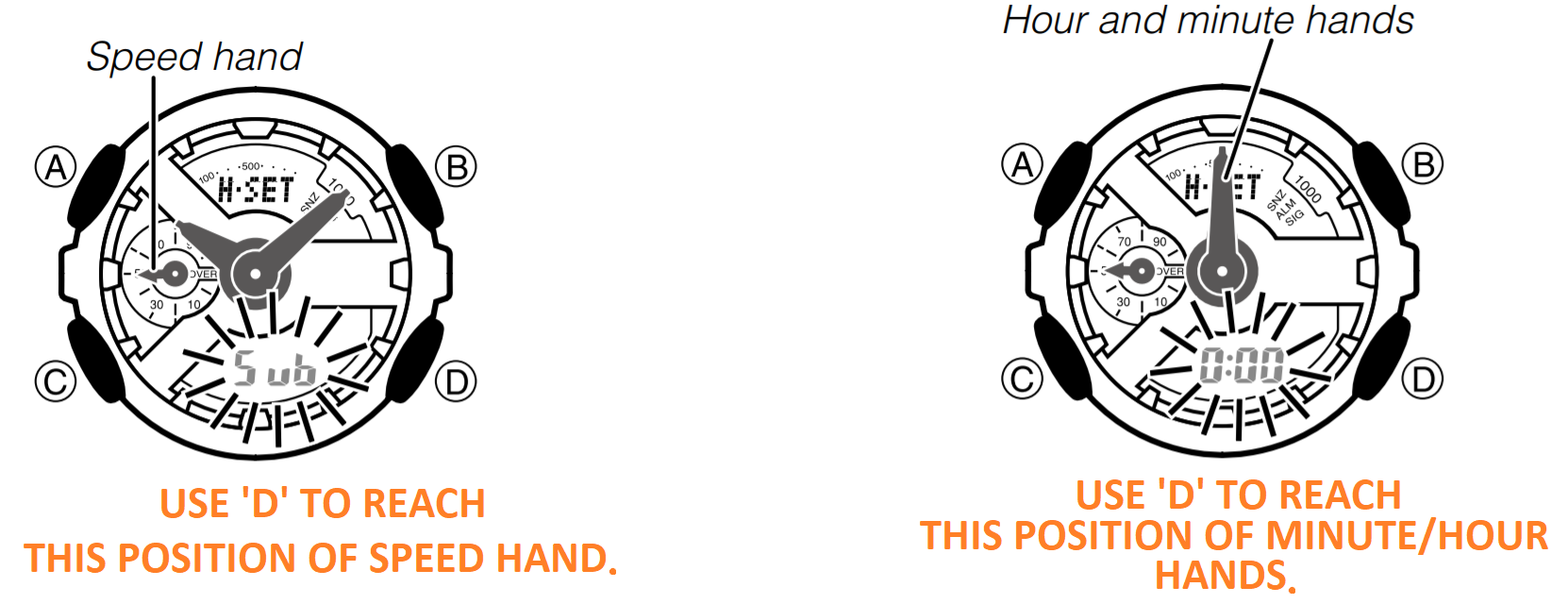 how to set time on g shock 5146 watch