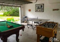 pool table in garage