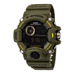 casio rangeman for police officers