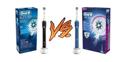 oral b 1000 vs 3000
