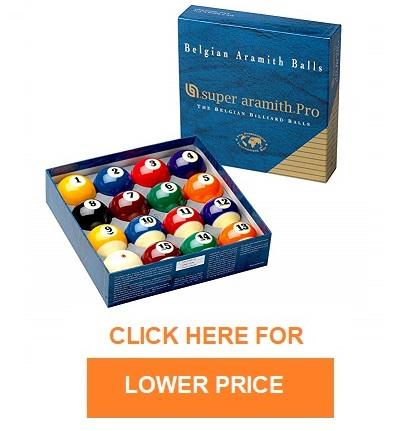 cyclop pool balls vs aramith