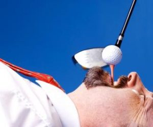 how high should be a golf tee