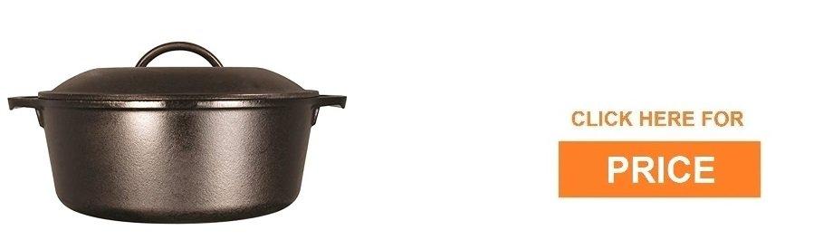 Lodge 5 Quart Cast Iron Dutch Oven review