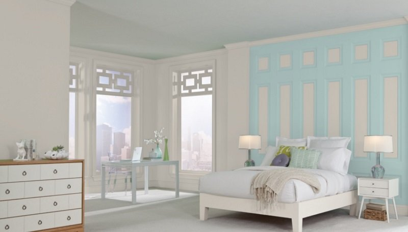 agreeable gray bedroom