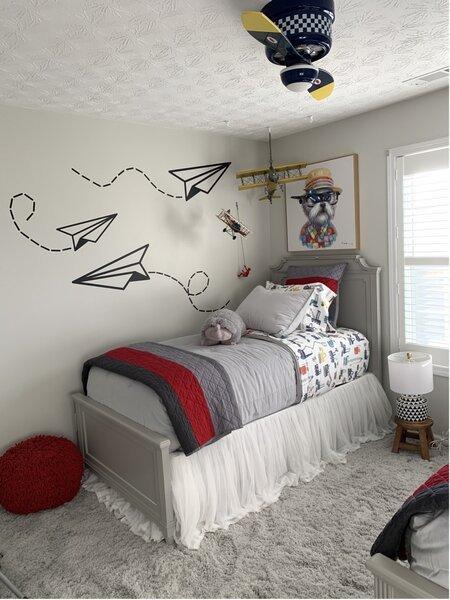 agreeable gray children bedroom