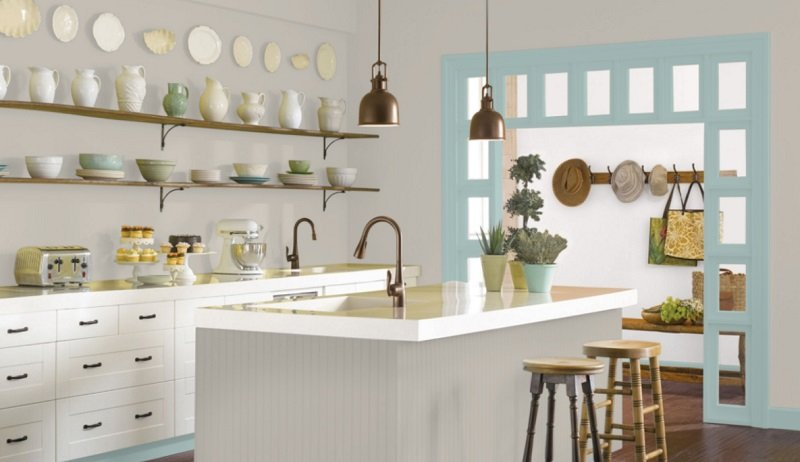 agreeable gray kitchen 2