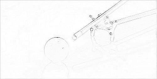mechanical bridge holding technique for pool cue