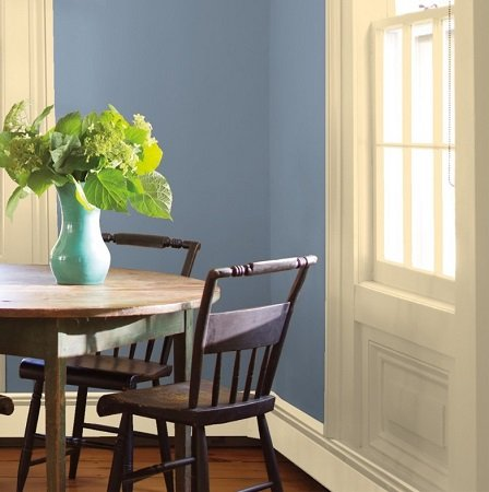 Bachelor Blue best blue gray colors benjamin moore review