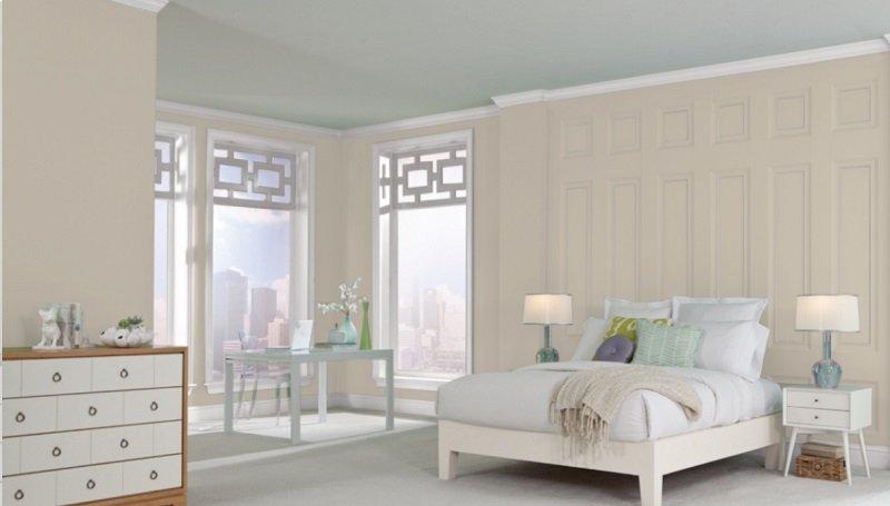 accessible beige bedroom