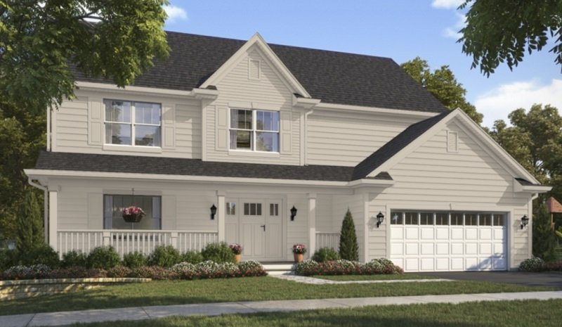 accessible beige exterior