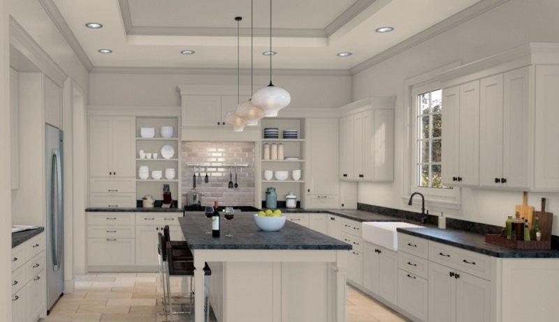 accessible beige kitchen