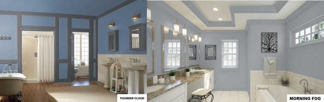 blue gray paint bathroom