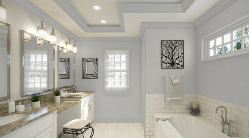light french gray bathroom 2
