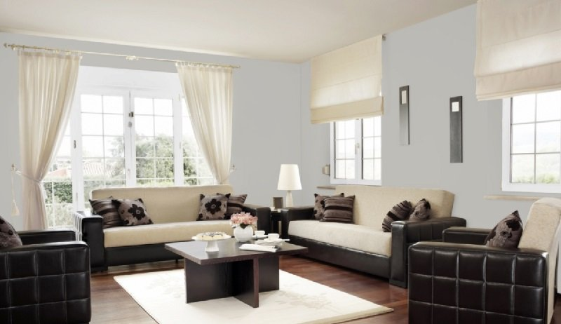light french gray living room