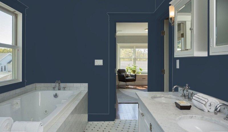 sherwin williams bathroom review