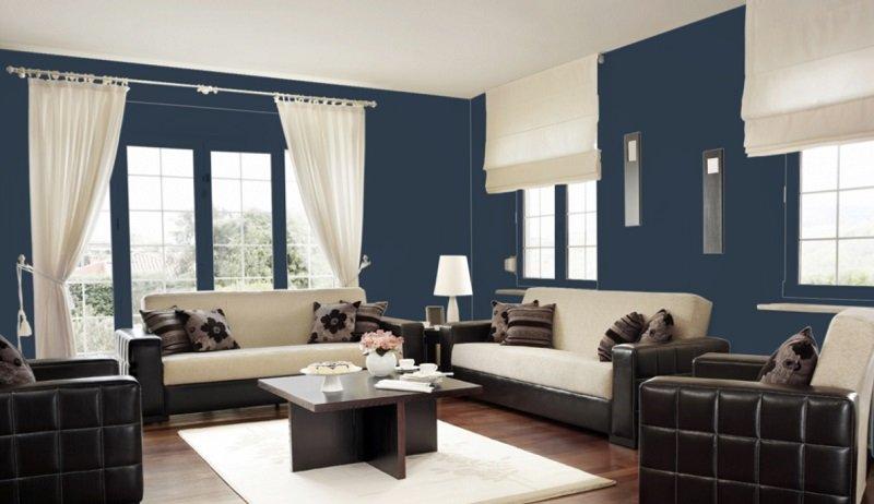 sherwin williams naval living room
