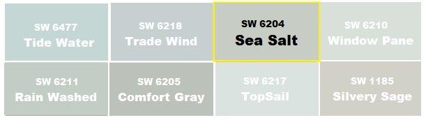 sherwin williams sea salt review