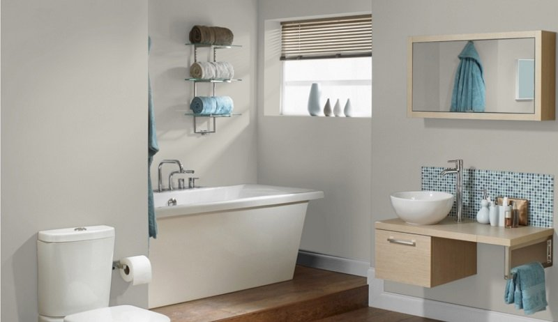 sw repose gray bathroom 1