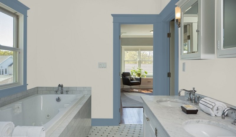 sw repose gray bathroom 2