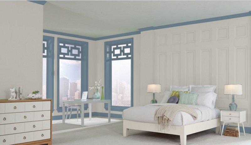 sw repose gray bedroom 1