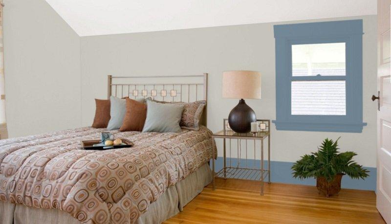 sw repose gray bedroom 2