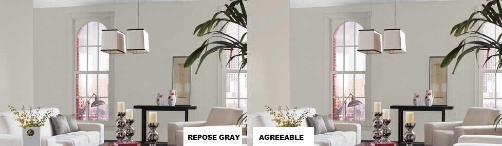 sw repose vs agreeable gray