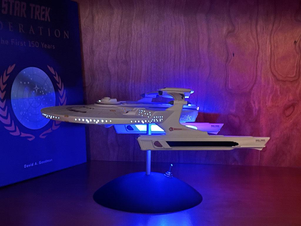 Star Trek Starship model for sale