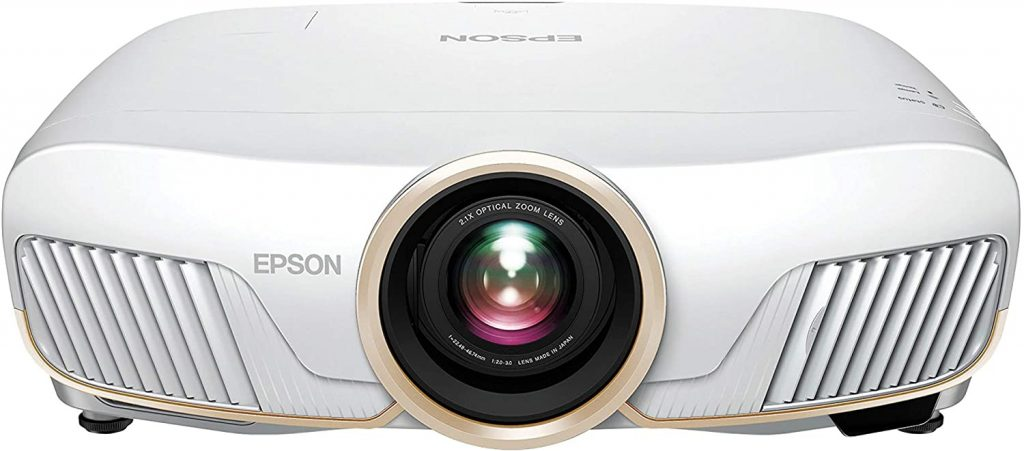Epson Home Cinema 5050UB 4K PRO-UHD 3-Chip Projector with HDR, White home theater projector
