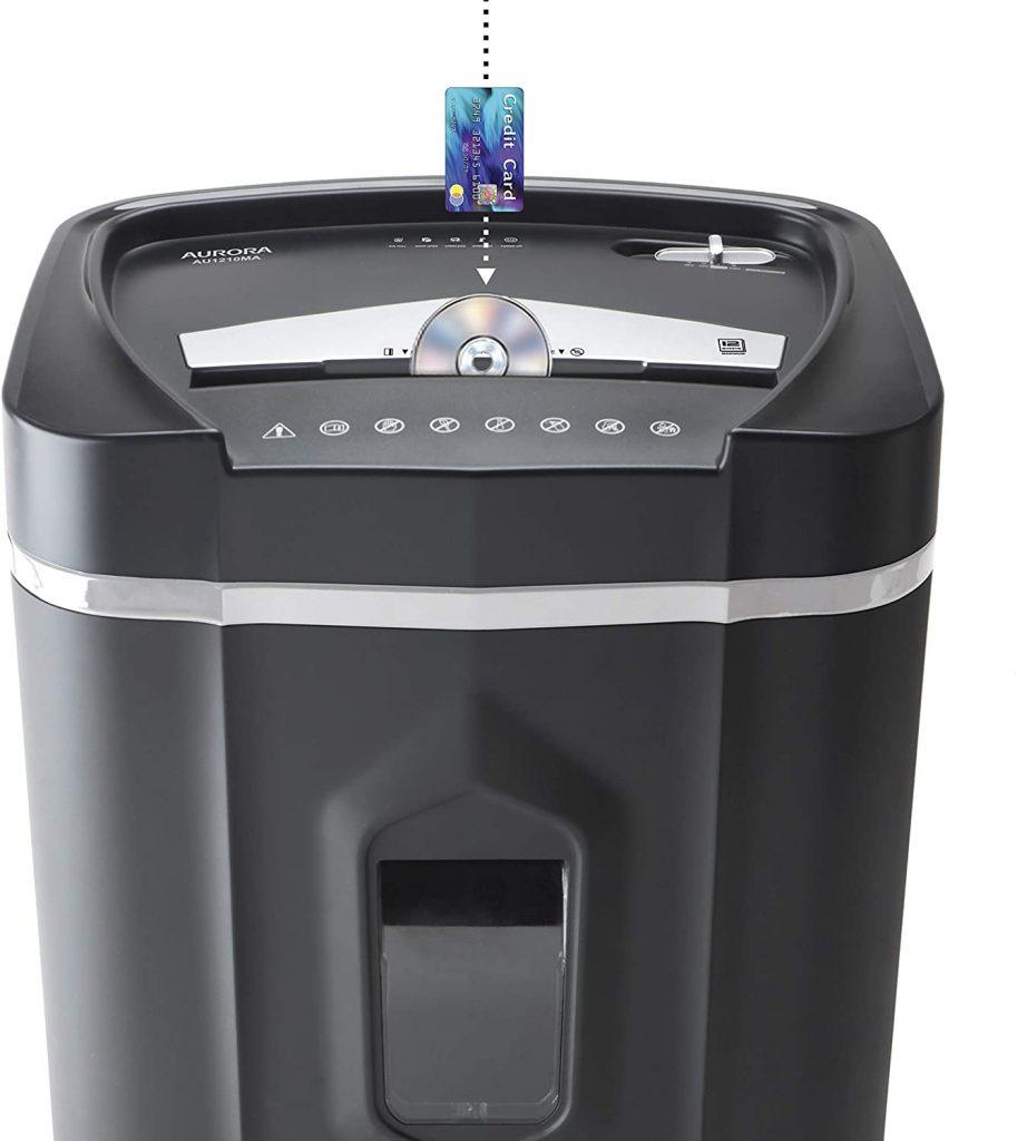 aurora best paper shredder