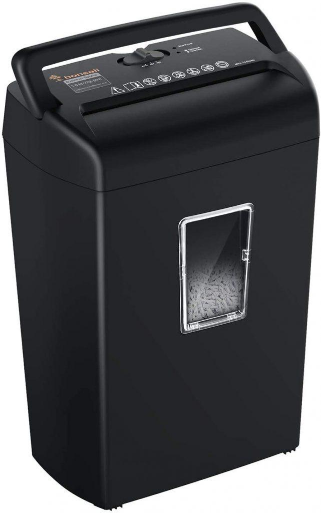 bonsaii best paper shredder