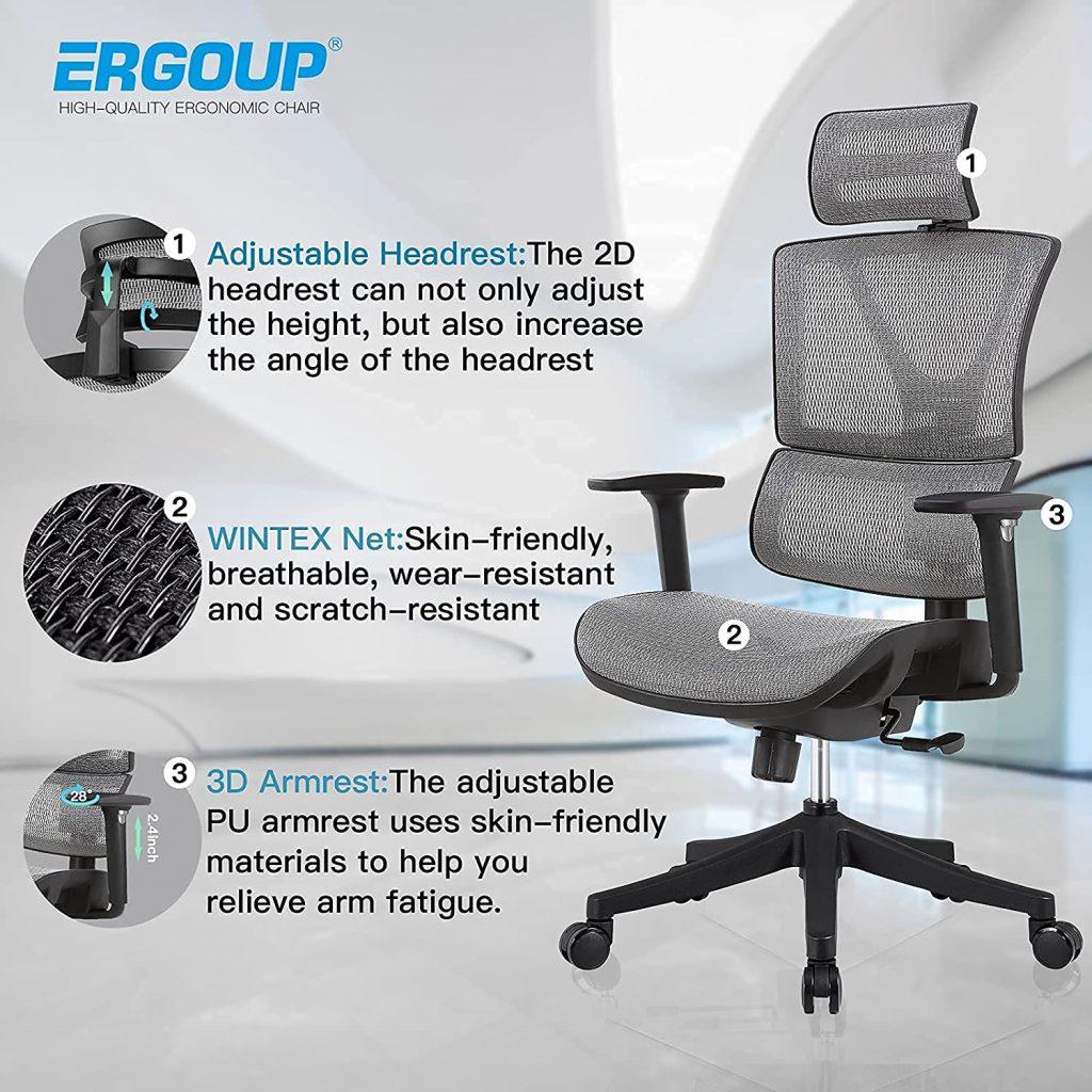 ergoup best ergonomic chair