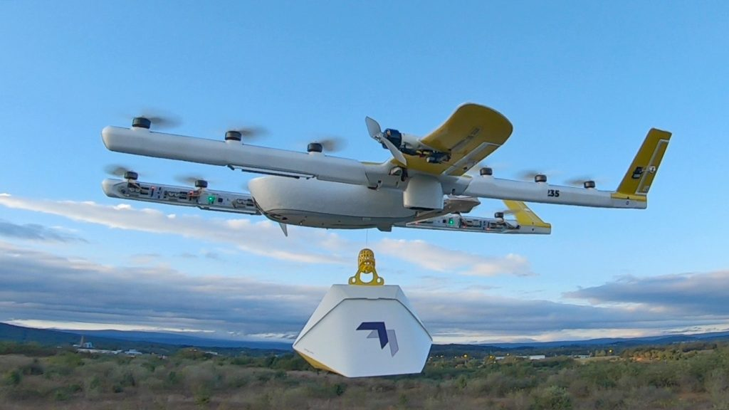 google wing drone delivery 2