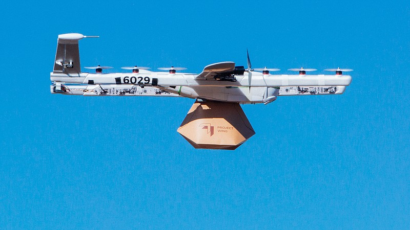 google wing drone delivery
