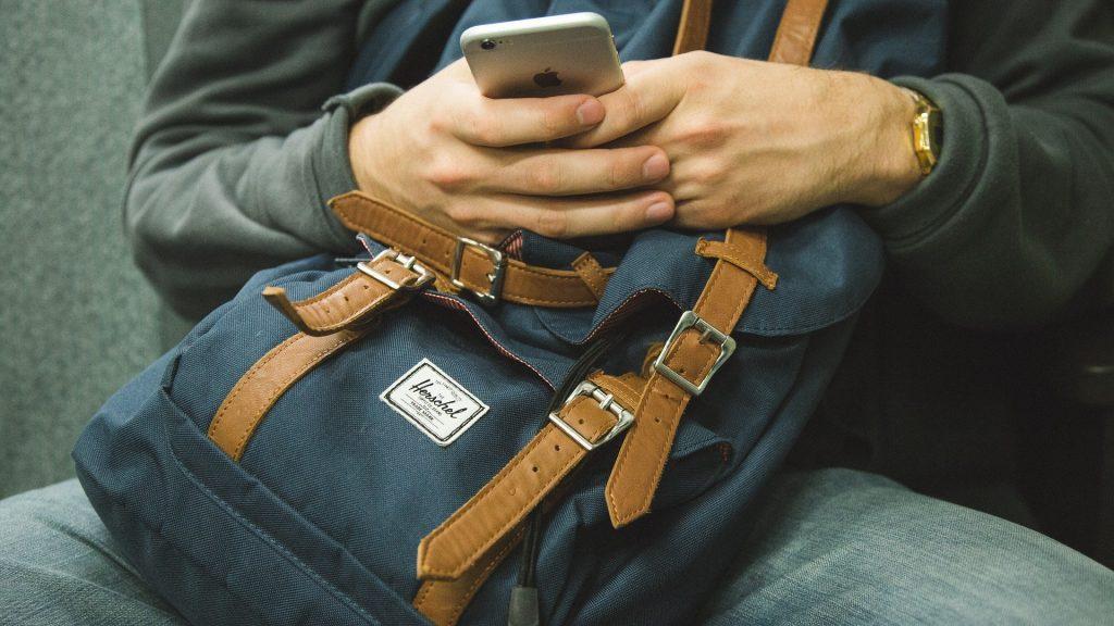 iphones backpack