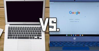 macbook vs chromebook