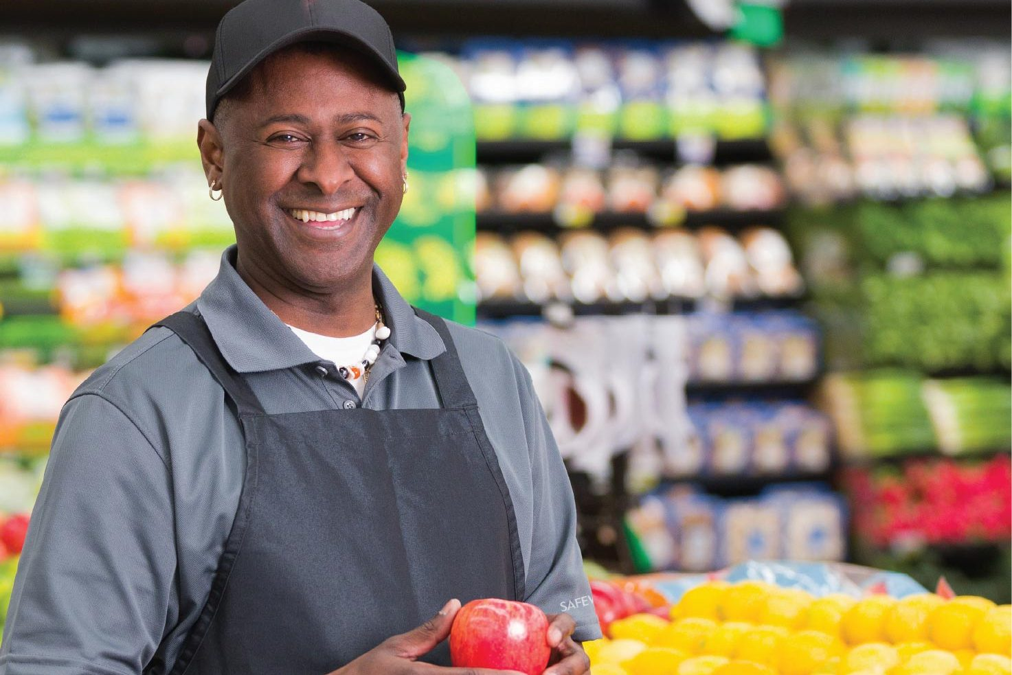 Grocery workers and food prices