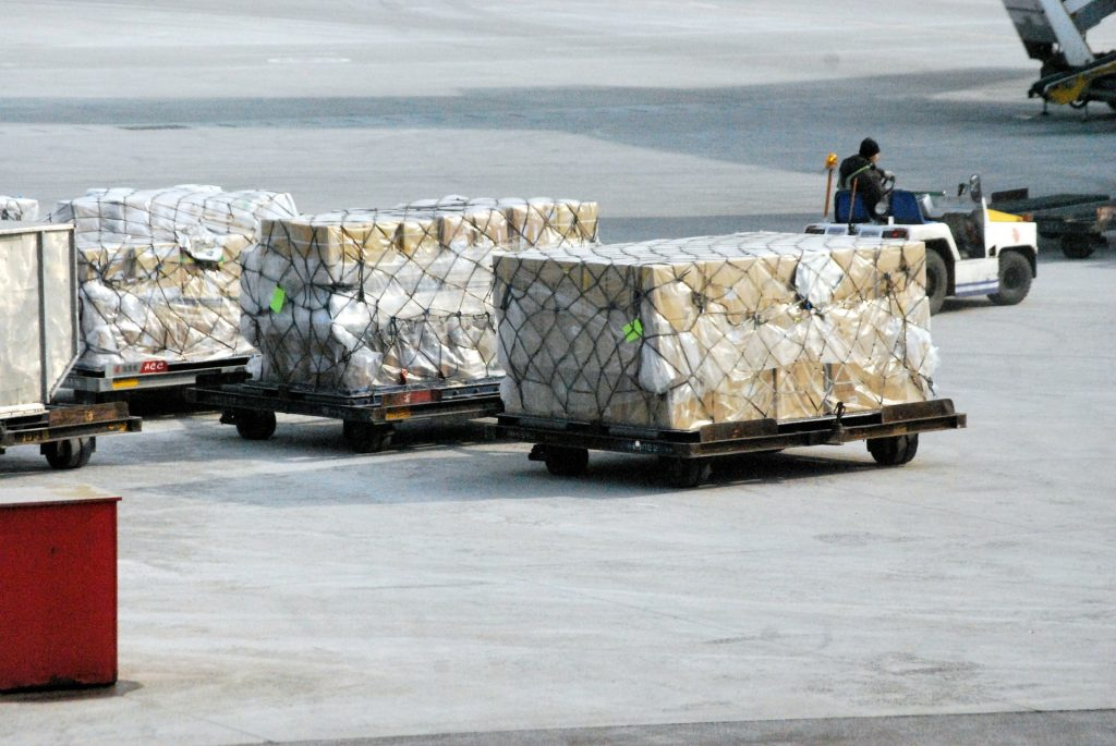 shipping cargo boxes