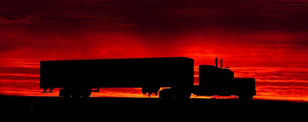 truck dusk