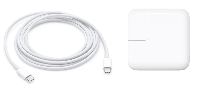 macbook standard cables and power