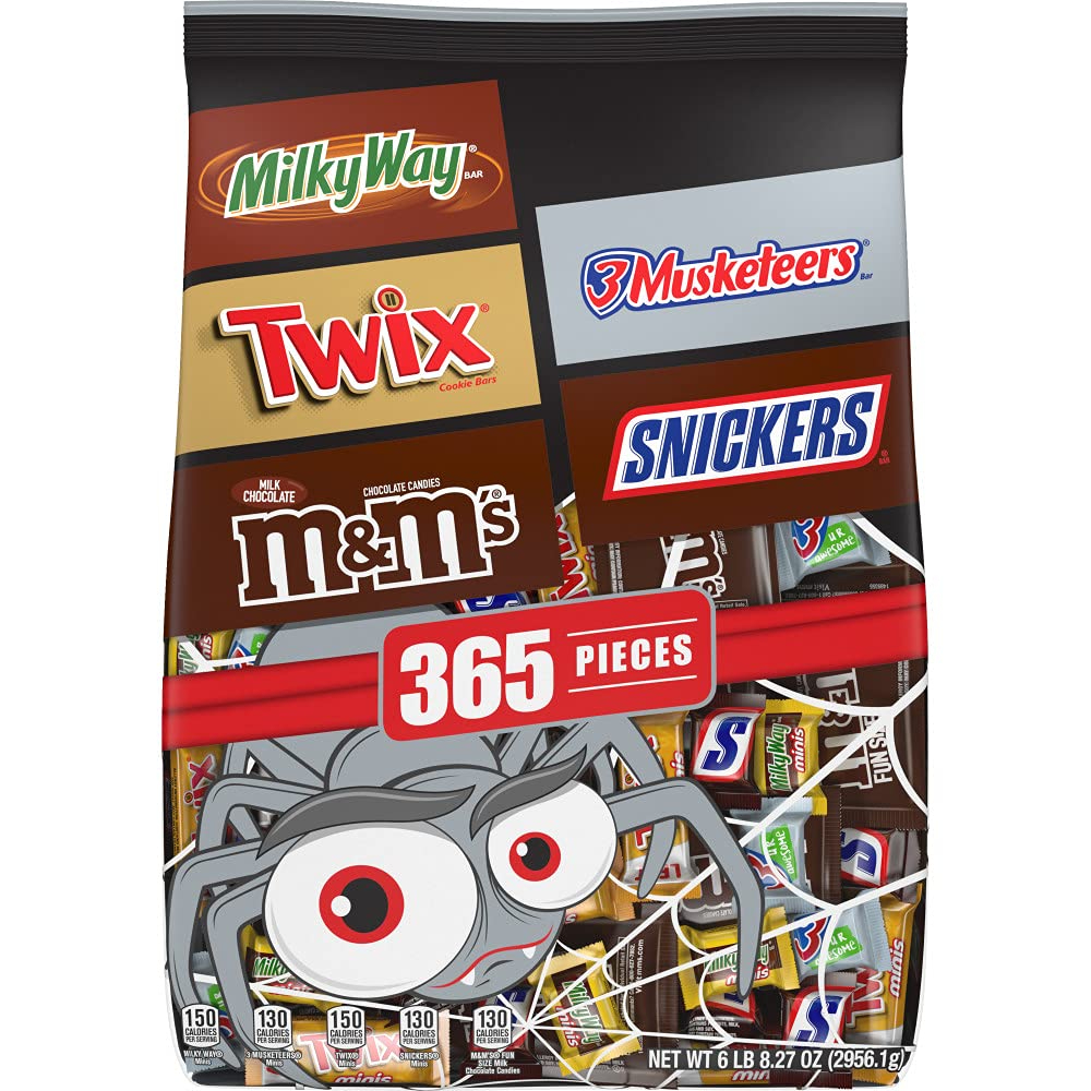 variety pack halloween candy