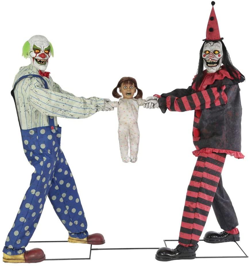 clown halloween decorations