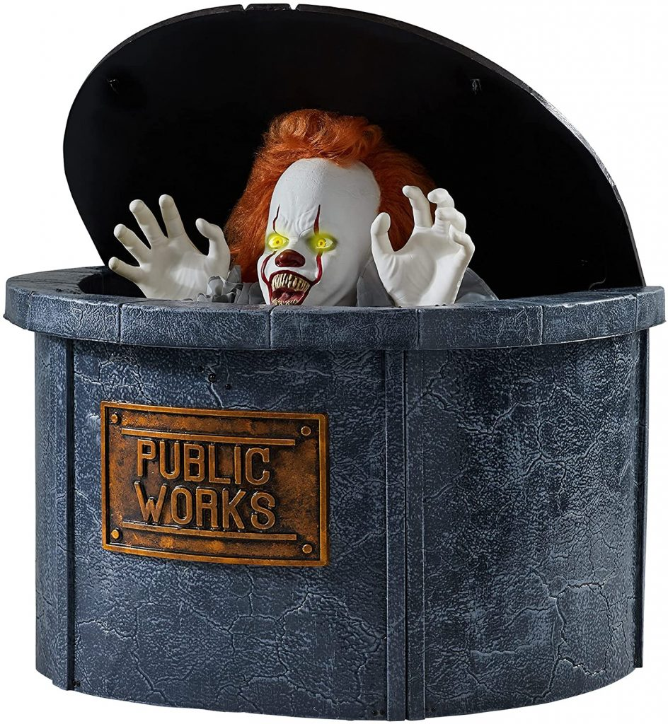 pennywise halloween decoration